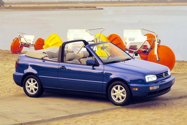 The Volkswagen Cabriolet, the '80s definition of fun in the sun