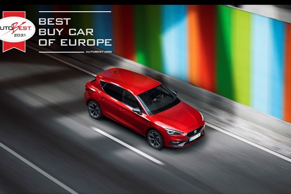 SEAT Leon voted AUTOBEST 2021 'Best Buy Car of Europe 2021'