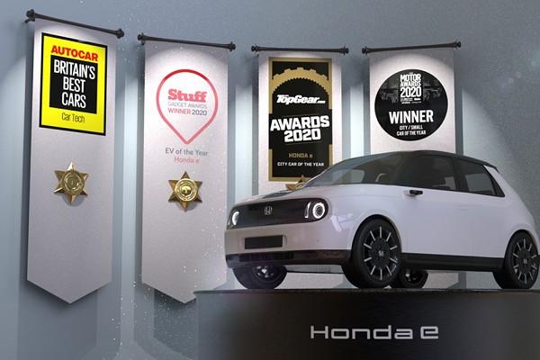 Honda e Awards Facebook
