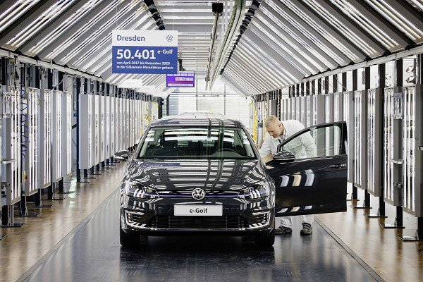 Goodbye e-Golf: After 50,401 vehicles in the Transparent Factory, production comes to an end
