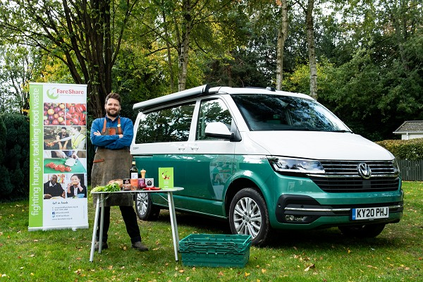 Re-fuelling the UK: Volkswagen Commercial Vehicles partners with FareShare to help feed the nation and reduce food waste