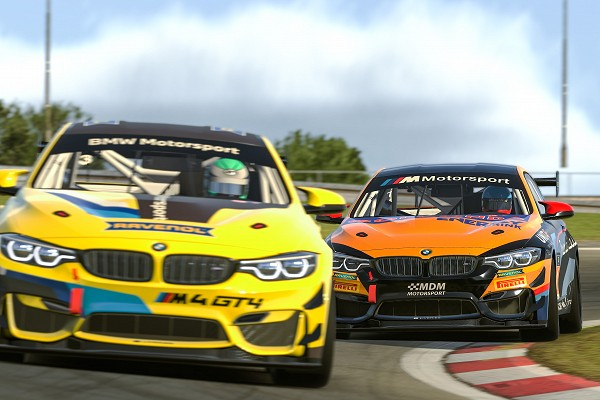 BMW M4 GT4, BMW Motorsport SIM Racing